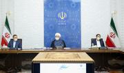 روحانی: دولت با نگرش واقعبینانه، برای حل مشکلات کشور تلاش میکند