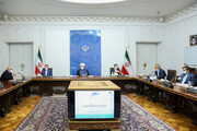 President Rouhani says Iran able to pass through tough times