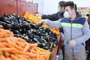 عکس | توصیههای کرونایی برای خرید از میادین میوه و ترهبار