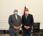 FM Zarif meets with Iraqi PM