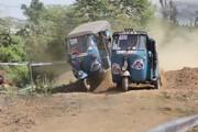 ببینید | رالی هیجان انگیز سه چرخهها در سریلانکا