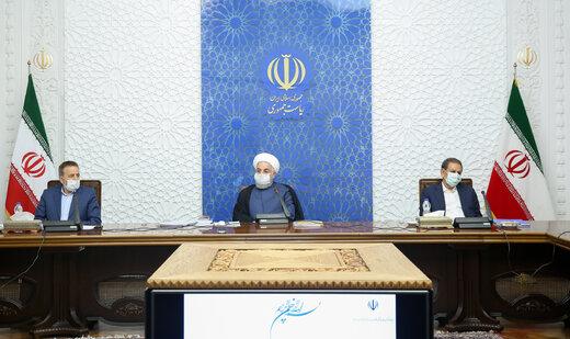 روحاني: ايران قادرة على اجتياز الظروف الصعبة