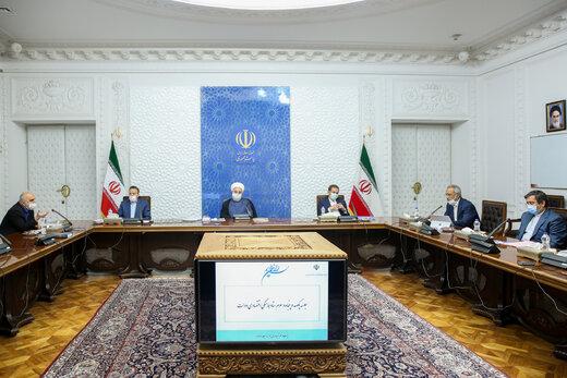 President Rouhani says Iran able to pass through tough times