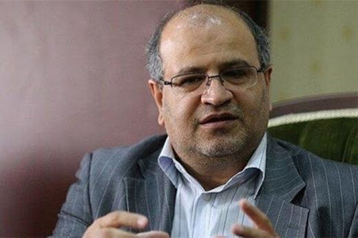 زالی: تهران همچنان در وضعیت هشدار و قرمز قرار دارد