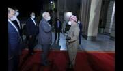 مسعود بارزانی پس از دیدار با ظریف چه گفت؟/عکس