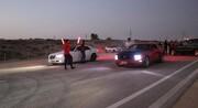نخستین مسابقه ماشین های تیونینگ و آفرود قشم برگزار شد