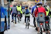 پیشنهاداتی برای دوچرخه سواری امن در شهرها! +تصاویر