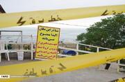 ببینید | شنا در دریای مازندران ممنوع شد