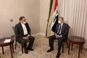 پرونده ترور سردار سلیمانی محور دیدار شمخانی و جهانگیری با نخست وزیر عراق