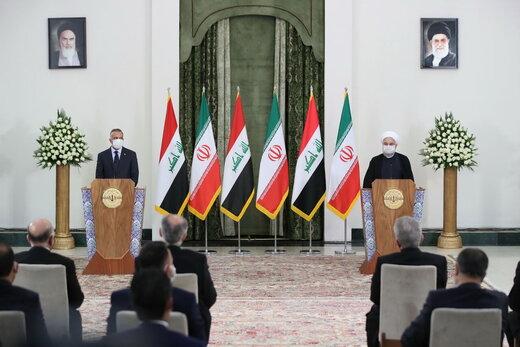 ارادة ايران والعراق قائمة على تنمية العلاقات التجارية وصولا الى 20 مليار دولار