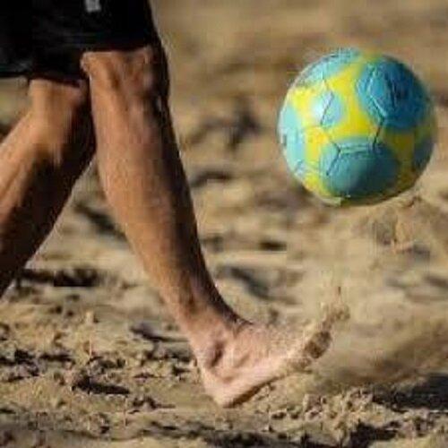 تمرینات تیم فوتبال ساحلی صنعت فرش حداد اصفهان