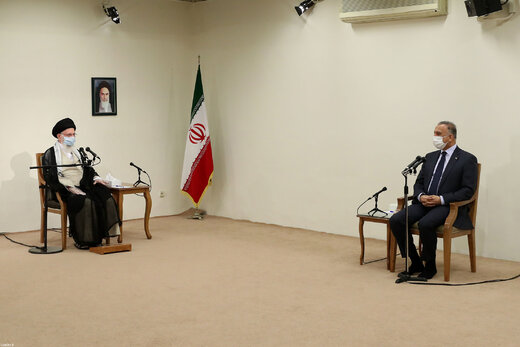 رهبر انقلاب: ایران خواهان عراقِ عزتمند و آمریکا دشمن عراق قوی است