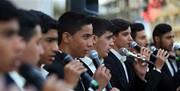 تشکیل بزرگترین گروه سرود دینی و حماسی با رعایت پروتکلهای بهداشتی