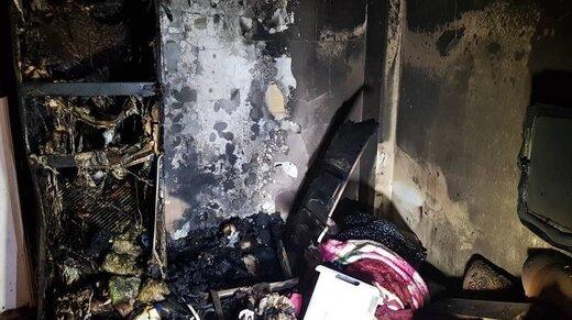 شهادت یک آتشنشان حین عملیات اطفای حریق در جنوب تهران