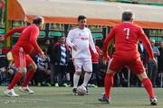 بزرگمردان ورزش ایران در صف رفاقت/عکس