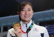 شناگر سرطانی در ویدیوی المپیک