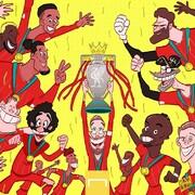عکس یادگاری لیورپولیها با جام پس از ۳۰ سال!