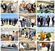 بازدید مدیرعامل منطقه آزاد قشم از واحدهای تولیدی و طرح های گردشگری سطح جزیره
