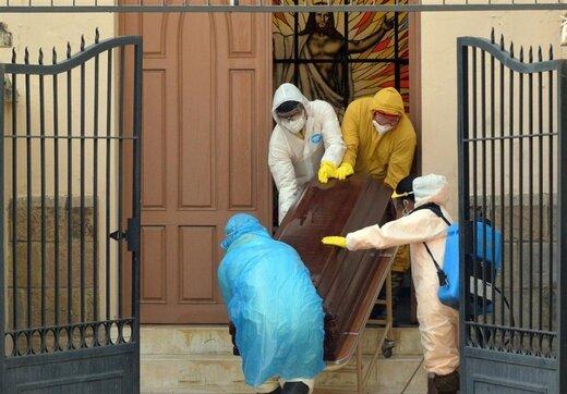 کشف بیش از ۴۰۰ جسد مشکوک به کرونا در بولیوی
