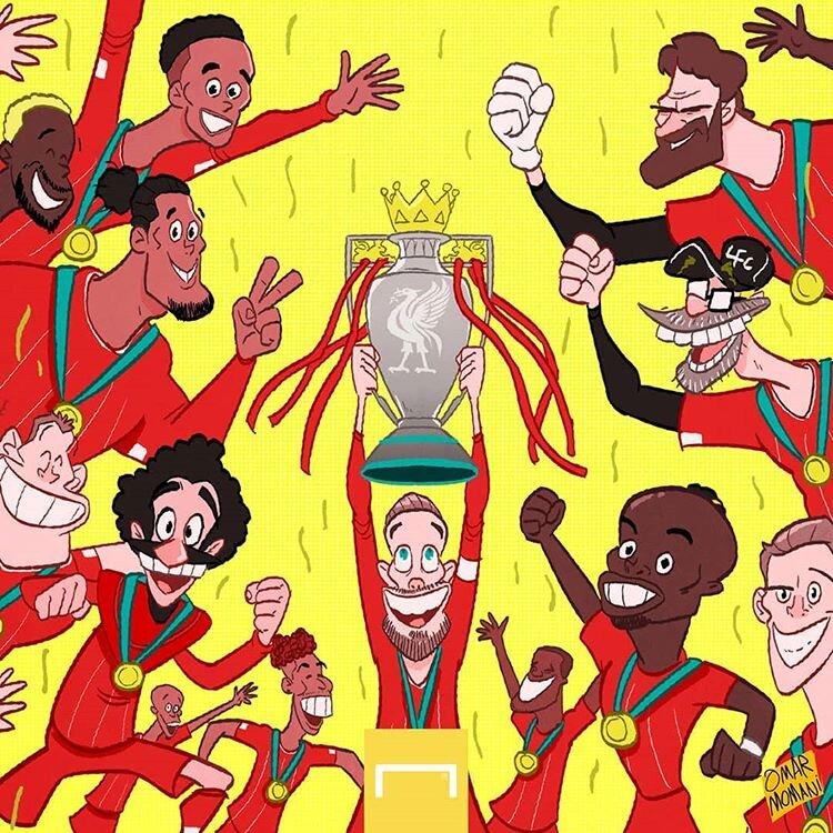 اینم عکس یادگاری لیورپولیها با جام پس از ۳۰ سال!