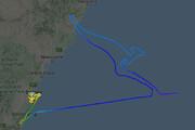 ببینید | ایجاد طرح کانگرو نماد استرالیا توسط آخرین پرواز بویینگ ۷۴۷ ناوگان خطوط هوایی کانتاس