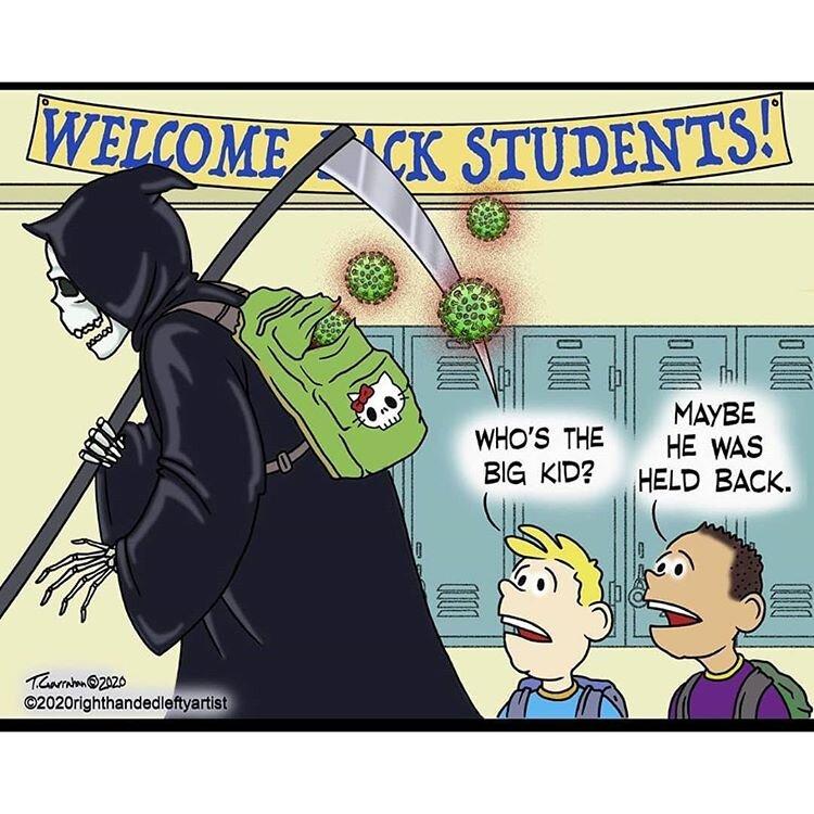 همکلاسی جدید دانشآموزان آمریکایی رو ببینید!