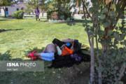 تصاویر | بساط معتادها در میدان تاریخی کرمان