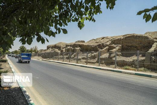 کشف اسکلت بانوی اشکانی در اصفهان