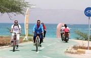 کیش دارای طولانی ترین و زیباترین مسیر دوچرخه خلیج فارس است