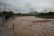 ببینید | بارش شدید باران و طغیان رودخانهها در قصرقندِ سیستان و بلوچستان