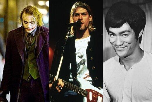 از بازیگر تا خواننده و نقاش؛ چهرههای مشهوری که در جوانی از دنیا رفتند