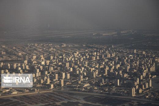 شاخص آلودگی هوای اهواز نزدیک ۱۵۰؛ هوای تهران هم ناسالم است