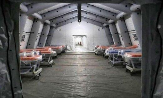 بیمارستان صحرایی کیش برای درمان مبتلایان به کرونا راهاندازی میشود
