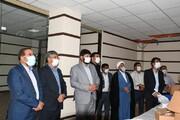 دیدار نماینده بویراحمد ،دنا و مارگون در مجلس شورای اسلامی از مرکز کنترل ترافیک یاسوج