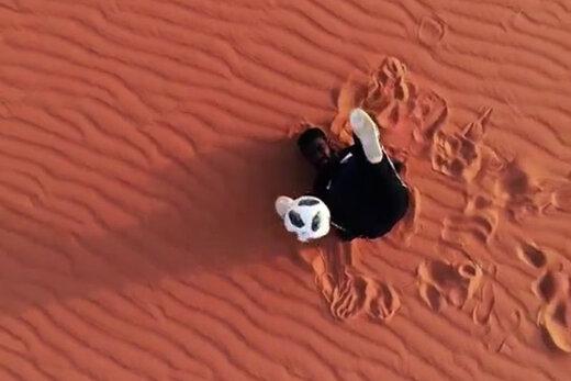 ببینید |  شاهکار فری استایلر سودانی در یک بنای تاریخی