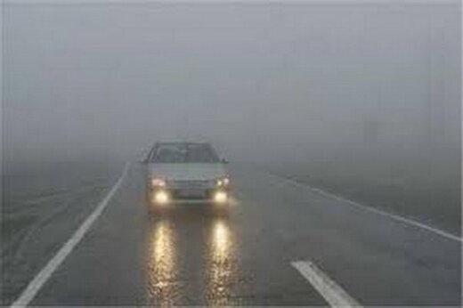 ترافیک نیمه سنگین در ورودی تهران/ مه گرفتگی در فیروزکوه