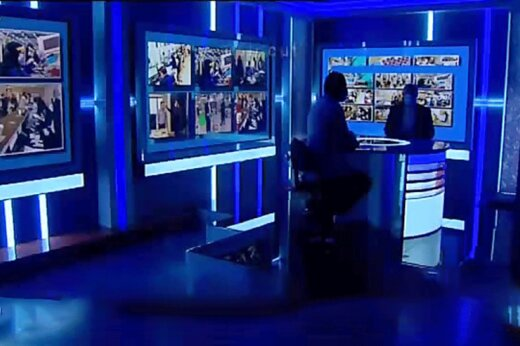 ببینید | استرس عوامل پشت صحنه شبکه خبر روی آنتن زنده!