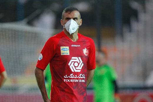 جلال حسینی پشت تریبون لیگ قهرمانان آسیا/عکس
