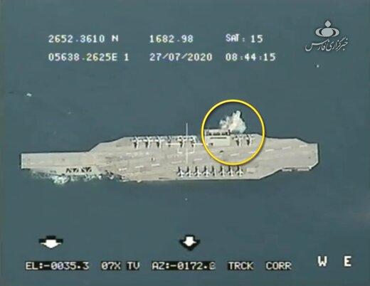 ناو آمریکایی در تیر رأس موشکهای سپاه پاسداران /آخرین خبرها از فعالیت اولین ماهواره نظامی ایران