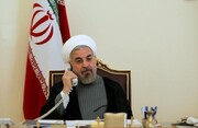 رایزنی مهم روحانی و برهم صالح درباره توافقات تجاری ایران و عراق