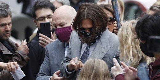 وکیل «سان»: جانی دپ، معتادی ناامید است!