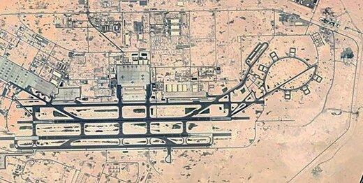 اولین تصاویر ماهواره نظامی نور از پایگاه آمریکایی در قطر /۱۳ هزار تروریست آمریکایی در بزرگترین پایگاه هوایی آمریکا در غرب آسیا