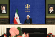 President Rouhani: Iran transiting from coronavirus' peak