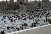 عکس | مراسم دعای عرفه در جوار حرم امام رضا(ع)