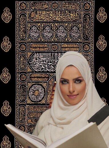 ثروتمندترین زن ایران برنده مزایده پارچه تمام طلای خانه خدا شد ...