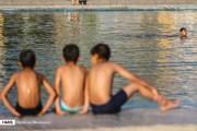 تصاویر | آبتنی در گرمای تابستانِ نقش جهان