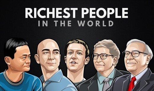 آشنایی با ۱۰ ثروتمند نخست جهان به تفکیک زن و مرد