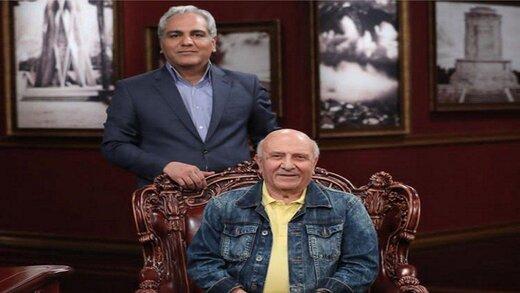 مقایسه مهران مدیری با یک هنرمند کارکشته