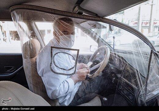رانندگی در قرنطینه