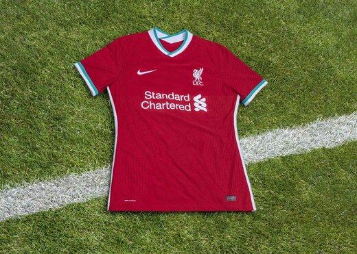 از پیراهن جدید لیورپول رونمایی شد/عکس